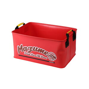 MAZUME(マズメ) mazume ウェイディングカーゴ IV レッド MZBK-508