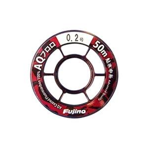 フジノナイロン AQフロロ 鮎 水中糸 50m 0.175号 クリアー A-107