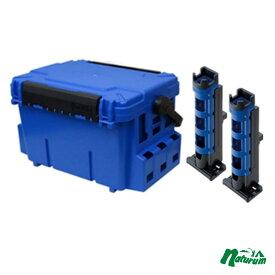メイホウ(MEIHO) 明邦 ★バケットマウスBM-7000+ロッドスタンドBM-280 2本組みセット★ 28L ブルー/ブルー×ブラック