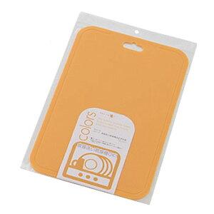 パール金属 カラーズ 食器洗い乾燥機対応まな板 中 オレンジ C-347
