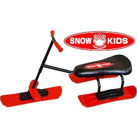 キャプテンスタッグ(CAPTAIN STAG) 雪の上ノッタロー スノースクーター ソリ/草遊び/雪遊び/草すべり レッド M-6275
