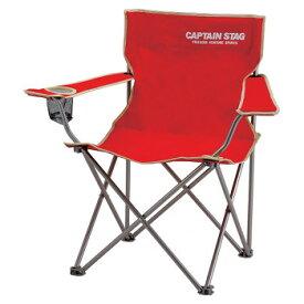 キャプテンスタッグ(CAPTAIN STAG) パレット ラウンジチェア typeII チェアー/椅子/キャンプ/レジャー用 レッド M-3914