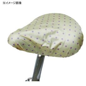 MARUTO(マルト) 簡単雨よけサドルカバー・軽快車用(SC-MT) 水玉×イエロー YD-2164