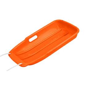 キャプテンスタッグ(CAPTAIN STAG) スノーボート タイプ1 引きひも付き ソリ/草遊び/雪遊び/草すべり 小 オレンジ ME-1554