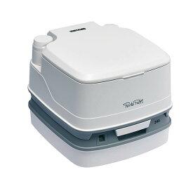 ポルタポッティ キューブ 水洗式ポータブルトイレ ホワイト PPQ345