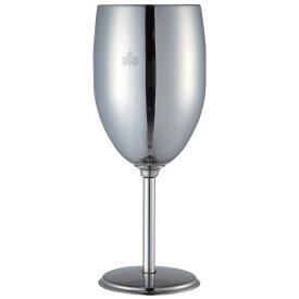 ロゴス(LOGOS) ステンレスワイングラス 260ml 81285112