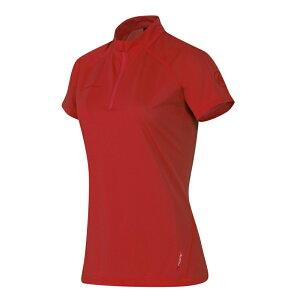 【1日限定全品P12倍以上確定!要エントリー】 MAMMUT(マムート) Illiniza Light Zip T-Shirt AF Women's S 3038(lava) 1041-07930