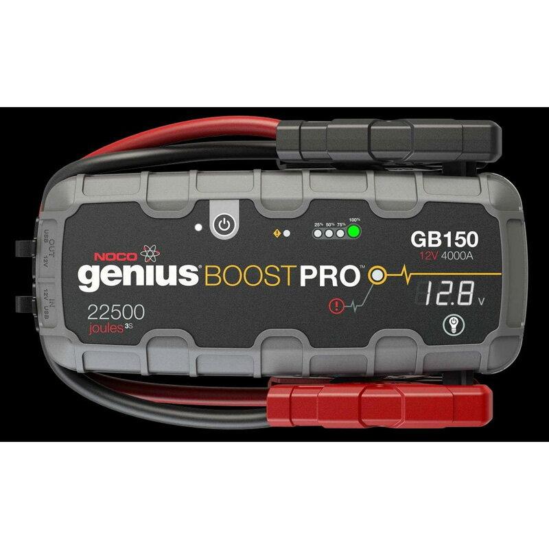 NOCO(ノコ) GB150 ジーニアス ブースト PRO ジャンプスターター 10.0L以上 GB150(4000A)10Lガソリン&ディーゼル GB150