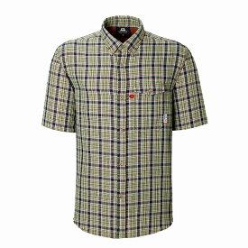 マウンテンイクイップメント(Mountain Equipment) SS Double Gauze Shirt (ダブルガーゼシャツ) S グリーン 421831