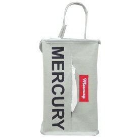 MERCURY(マーキュリー) キャンバス NEW ティッシュボックスカバー G(グレイ) MECANTBG