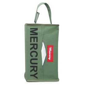MERCURY(マーキュリー) キャンバス NEW ティッシュボックスカバー K(カーキ) MECANTBK