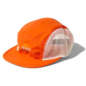 THE NORTH FACE(ザ・ノースフェイス) KIDS' FIVE PANEL MESH CAP(ファイブ パネル メッシュ キャプ) Kフリー PO(ペルシャオレンジ) NNJ01808