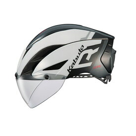 オージーケー カブト(OGK KABUTO) ヘルメット AERO-R1-TR トライアスロン XS/S G-1ホワイトダークグレー 20601109