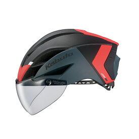 オージーケー カブト(OGK KABUTO) ヘルメット AERO-R1-TR トライアスロン XS/S G-2マットブラックレッド 20601112