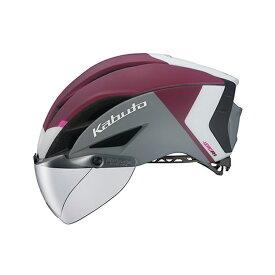 オージーケー カブト(OGK KABUTO) ヘルメット AERO-R1-TR トライアスロン XS/S G-2マットダークレッド 20601115