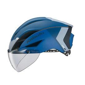 オージーケー カブト(OGK KABUTO) ヘルメット AERO-R1 (エアロ-R1) XS/S G-2マットネイビーブルー 20601159