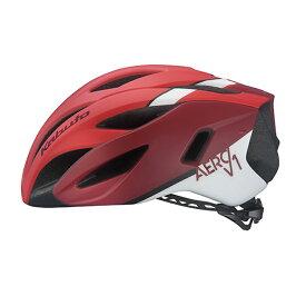 オージーケー カブト(OGK KABUTO) ヘルメット AERO-V1 S/M G-1マットレッド 20602003