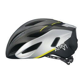 オージーケー カブト(OGK KABUTO) ヘルメット AERO-V1 L/XL G-1マットガンメタ 20602006