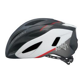 オージーケー カブト(OGK KABUTO) ヘルメット AERO-V1 S/M G-1マットブラックホワイト 20602007