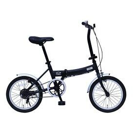 CHEVROLET(シボレー) 16インチ折畳み自転車【クレジットカード決済のみ】 16インチ ブラック MG-CV16G 大型便