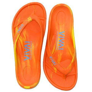 ビバアイランド(VIVA! ISLAND) VIVA ISLAND FLIP FLOP 42 Orange/Yellow V-810107