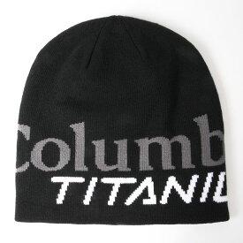 Columbia(コロンビア) TITANIUM DWR BEANIE(タイタニウム DWR ビーニー) フリー 010(BLACK) CU0138