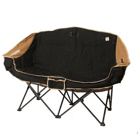 ジーアールエヌアウトドア(grn outdoor) 60/40CLOTH TWIN SOFA CHAIR フリー ブラック GO0402F