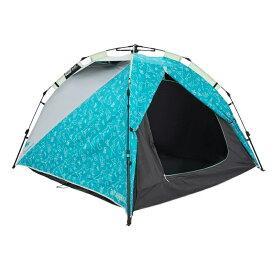 Quechua(ケシュア) ARPENAZ EASY FRESH&BLACK ワンタッチテント 3人用 ブルー 4011541-8582118