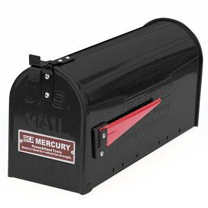 MERCURY(マーキュリー) US EMBOSSED メールボックス マットブラック ME048561