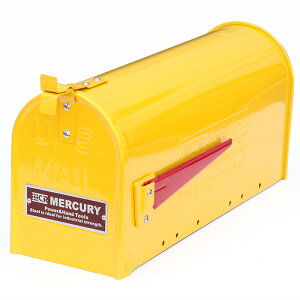 MERCURY(マーキュリー) US EMBOSSED メールボックス マスタード ME048585