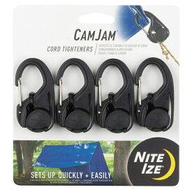 NITE-IZE(ナイトアイズ) カムジャム ロープタイトナー 4個パック NI59103