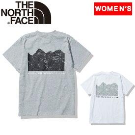 THE NORTH FACE(ザ・ノースフェイス) 【21春夏】S/S MONK MAGIC TEE(ショートスリーブモンキーマジックティー)ウィメンズ L ミックスグレー(Z) NTW32140