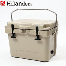 Hilander(ハイランダー) ハードクーラーボックス 25L タン HCA0225