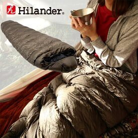 Hilander(ハイランダー) ダウンシュラフ 600 600g カーキ HCA0277