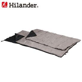 Hilander(ハイランダー) 2in1 洗える2シーズンシュラフ(15℃+掛け布団) 春〜夏用 HCD002