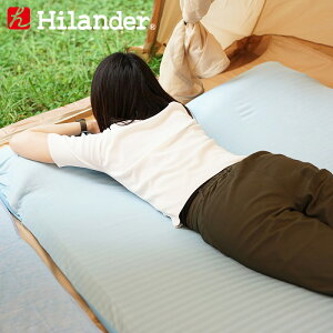 Hilander(ハイランダー) インフレーターマット用 冷感シーツ(Q-MAX0.445) ダブル用 UK-22