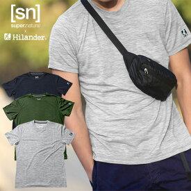 Hilander(ハイランダー) 【sn×Hilander】メリノウール ポケットTシャツ L グレー SN965