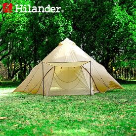 Hilander(ハイランダー) ポップワンポールテント フィンガル 単品 ベージュ HCA0310