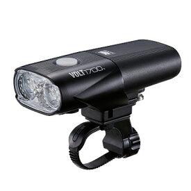 キャットアイ(CAT EYE) HL-EL1020RC VOLT1700 USB充電式ライト ブラック HL-EL1020RC