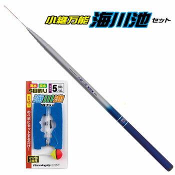 OGK(大阪漁具) 小継万能海川池セット 450 KBUKIS450
