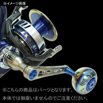 リブレ(LIVRE) POWER(パワー) シマノ8000番〜14000番用 左巻き 88mm GMT(ガンメタ×チタン) PW88-SL814-GMT