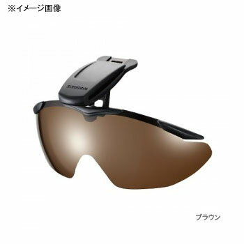 シマノ(SHIMANO) HG-002N キャップクリップオングラス マットブラック スモーク 41323
