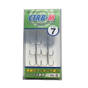 コアマン(COREMAN) トレブルフック CTRB-M【あす楽対応】