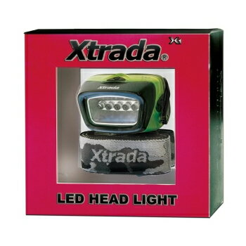 ルミカ Xtrada(エクストラーダ) X3 ヘッドライト グリーン A21027