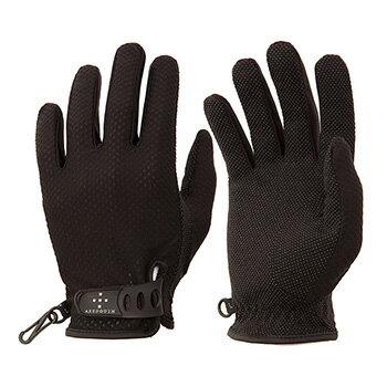 【送料無料】アクシーズクイン(AXESQUIN) M's UV Mesh Glove M ブラック AG6704【あす楽対応】