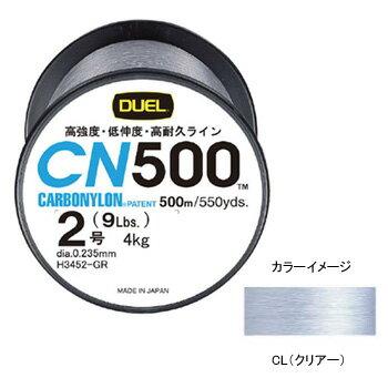 デュエル(DUEL) カーボナイロン 500m 3号/13lb CL(クリアー) H3453CL【あす楽対応】