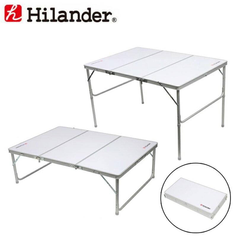 Hilander(ハイランダー) 三つ折りキャンプテーブルII 120×80 HCA2008【あす楽対応】