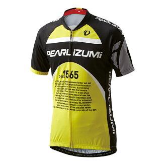 珍珠IZUMI(PEARL iZUMi)621-B印刷运动衫M珍珠黄色621-B-12-M