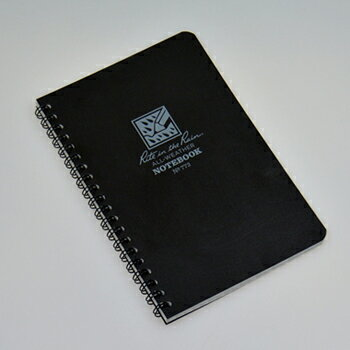 Rite in the Rain(ライトインザレイン) スパイラルノートブック ブラック 02-12-memo-0004