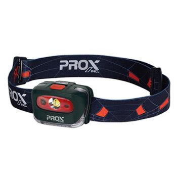 プロックス(PROX) 3W LEDセンサーヘッドランプ 1灯 ブラック PX8412K